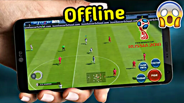 Download FIFA 14 MOD FIFA 18 World Cup Russia 18 Edition Android Offline