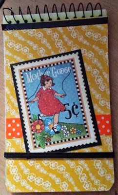 A7 spiral bound notebook = Mother Goose from Graphic 45