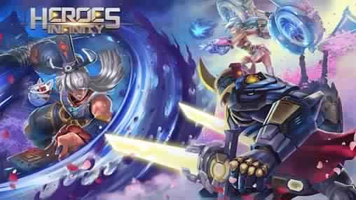 تحميل لعبه Heroes Infinity مهكره