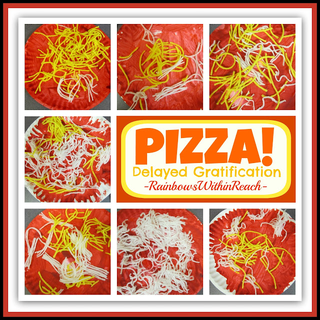 photo of: Building Pizza Art Project as a Lesson in Delayed Gratification via RainbowsWithinReach