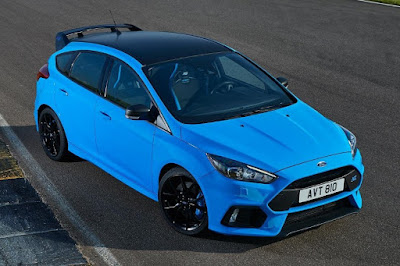 Ford Focus RS with Ford Performance Option Pack (2017) Front Side
