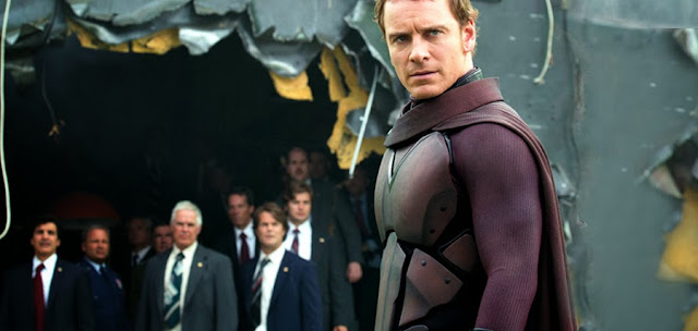 Michael Fassbender în rolul Magneto din X-Men Days Of Future Past
