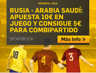 betfair promocion Rusia vs Arabia Saudi 14 junio