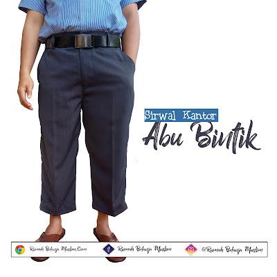Sirwal Formal Kantoran Abu Bintik