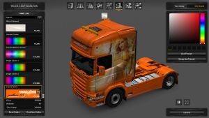 La Féeria Skin for Scania RJL