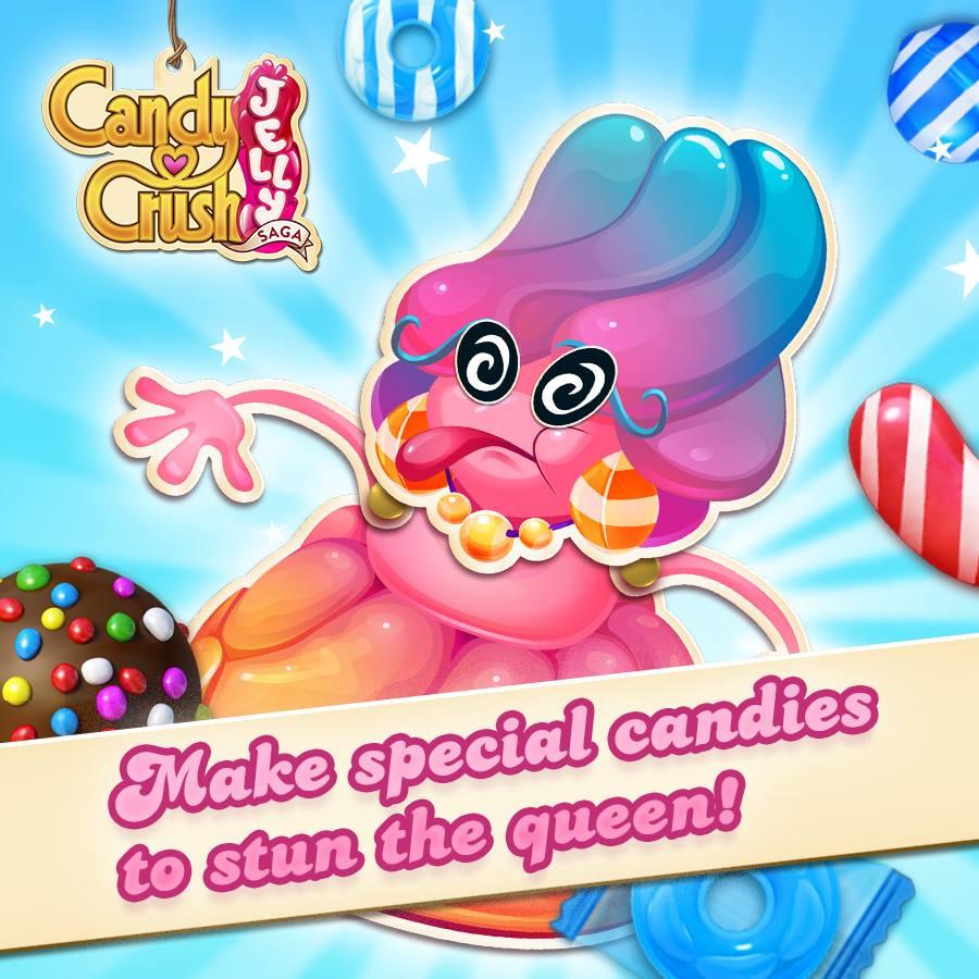 Candy Crush Jelly Saga Saga 21-40