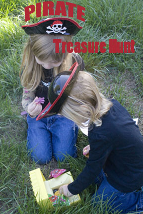Make a Pirate Treasure Hunt for Gross Motor Fun