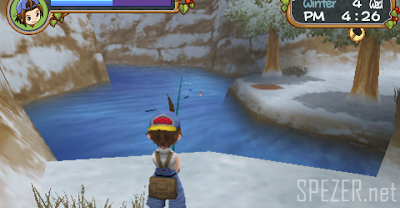 Tips Memancing di Harvest Moon Hero Of Leaf Valley