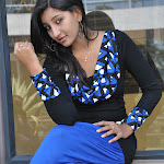 Vinni Spicy Photoshoot in Blue