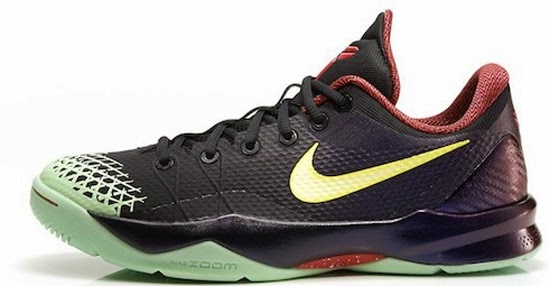 1a2944afd3e6 12 13 2013 Nike Zoom Kobe Venomenon 4 635578-003 Black Lemon Chiffon-Court  Purple  120.00