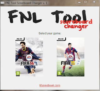 FNL Tool Scoreboard Changer for FIFA 14/15 by Bogdan2013