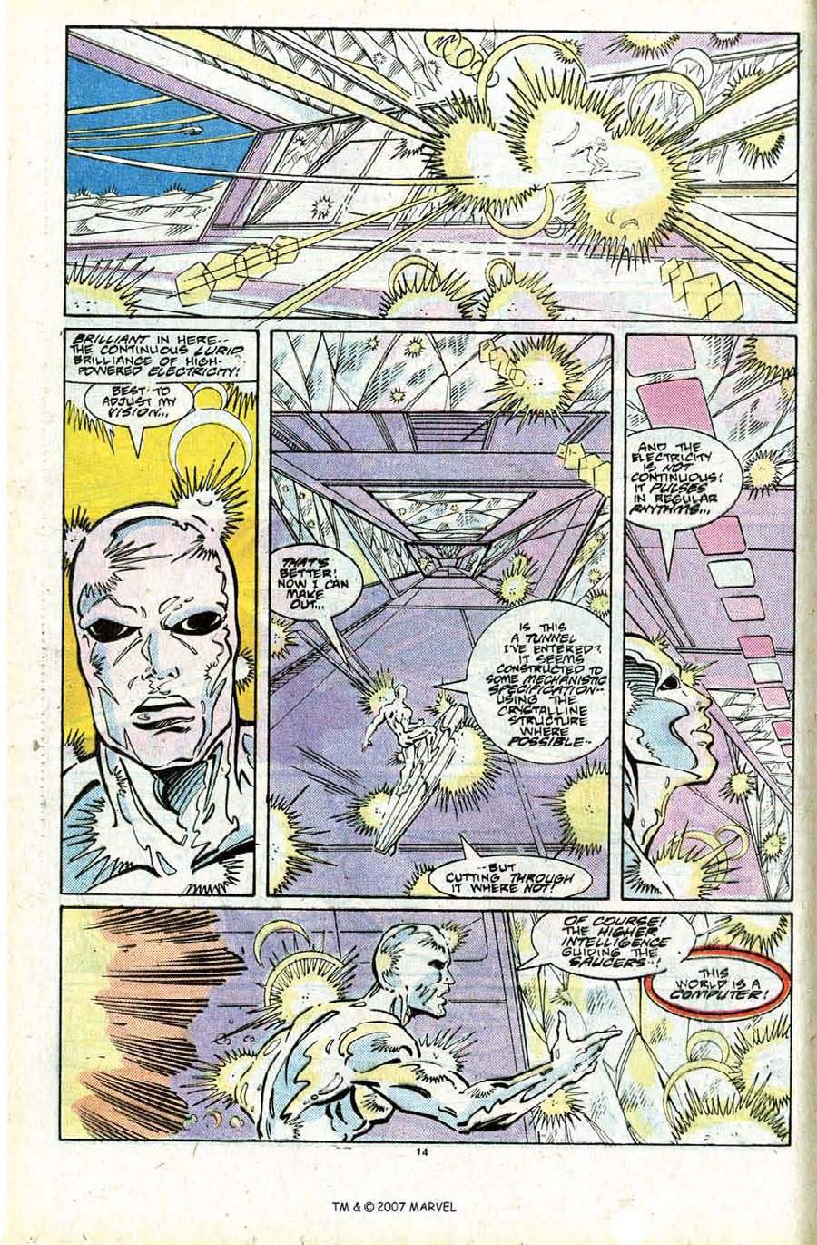 Read online Silver Surfer (1987) comic -  Issue #24 - 16