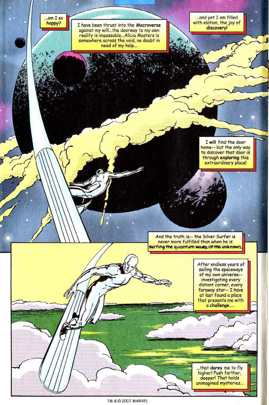 Read online Silver Surfer (1987) comic -  Issue #142 - 8