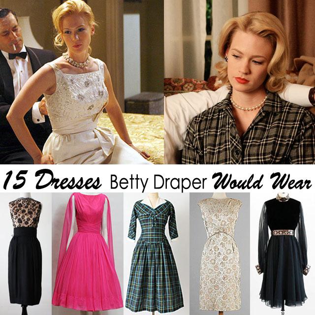 Betty Draper Dresses for Halloween