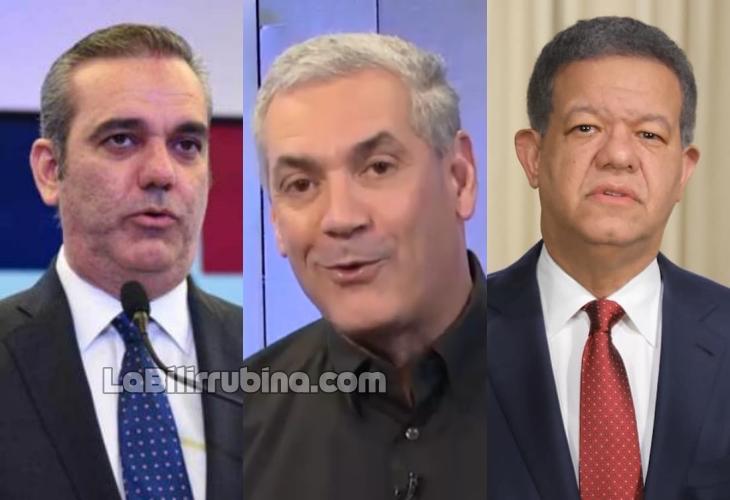 Encuesta Gallup-Hoy: Abinader 42%, El Penco 31% y Leonel 15.5%