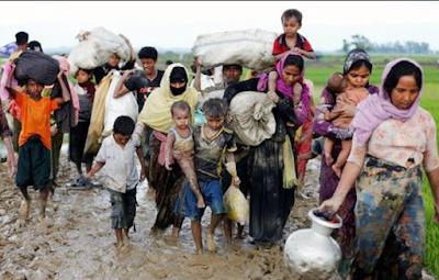 Allahuakbar! Abaikan Perintah, Polisi Izinkan Pengungsi Rohingya Masuk Bangladesh