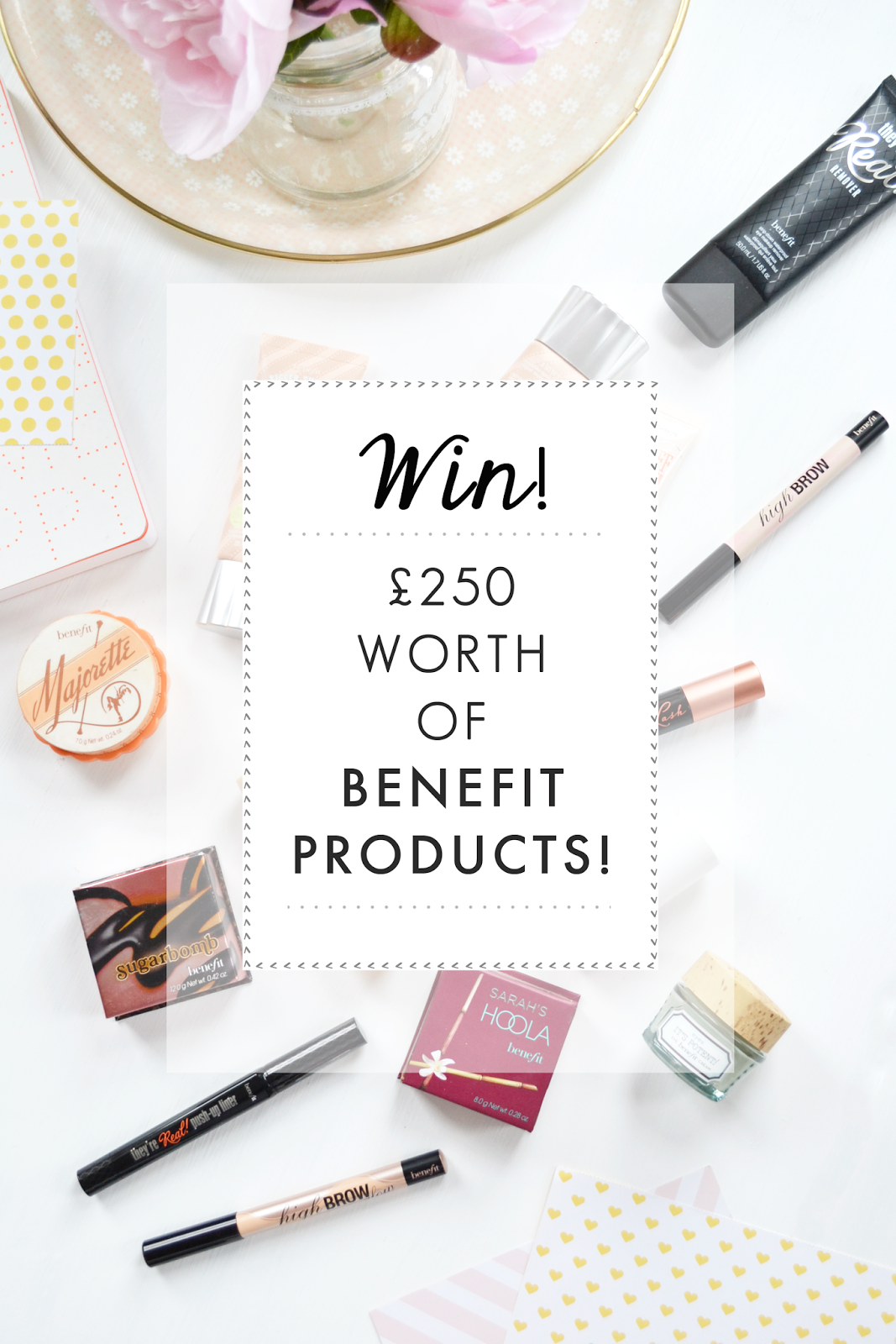 beauty blog uk, benefit cosmetics, beauty blog giveaway, beauty giveaway