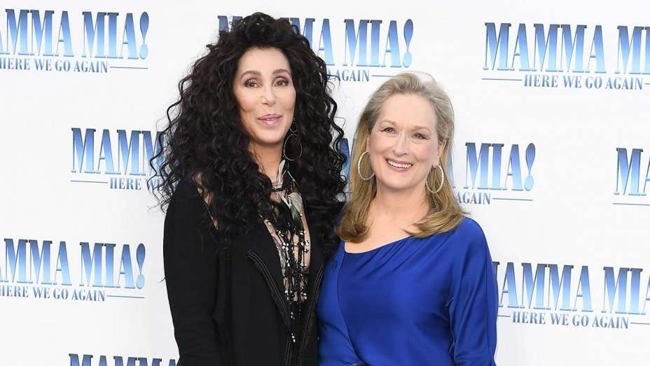 a9ff94172 Meryl was in London today for the premiere of Mamma Mia! Here We Go Again.