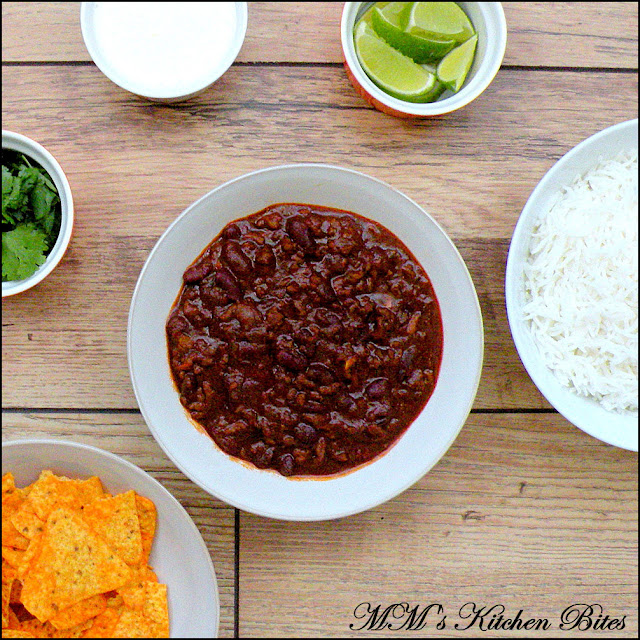 British Chili Con Carne mmskitchenbites
