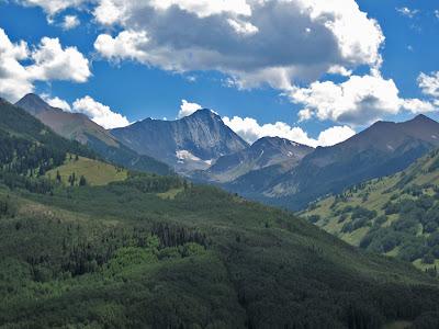 Capitol Peak in the Elks