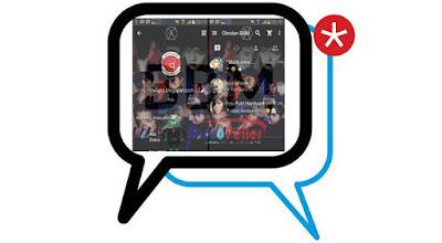 BBM Mod Tema EXO Monster v2.13.1.14 Apk Terbaru