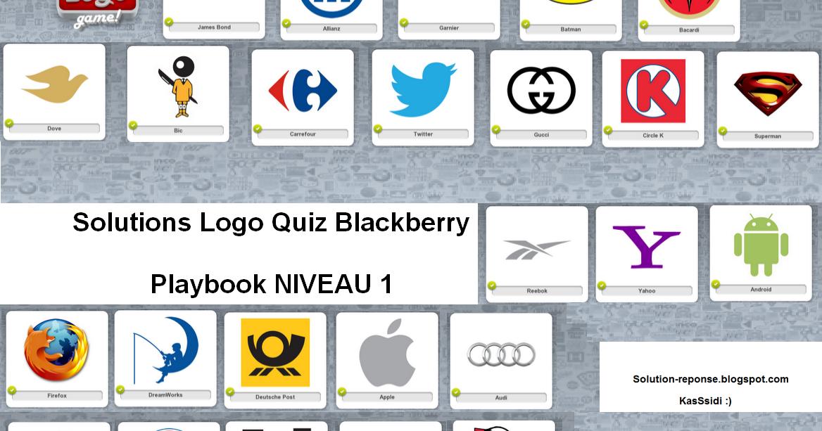 solution logo quiz blackberry playbook niveau 1 toutes les solutions r ponses des jeux android. Black Bedroom Furniture Sets. Home Design Ideas