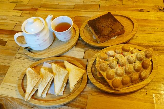 台北中正區美食、古亭葷素~巴和奈野二號店 Brunch Cafe