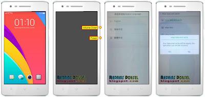 Hard Reset Oppo Mirror 3 R3001