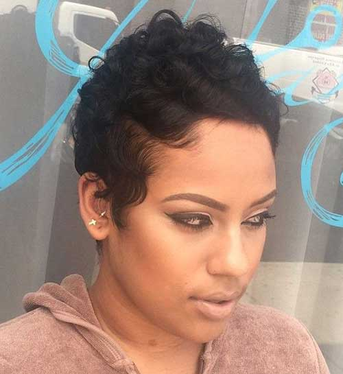 Enjoyable Latest Short Hairstyles For Black Girl Jere Haircuts Hairstyles For Men Maxibearus