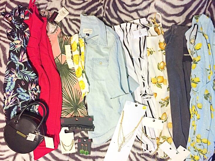 Memorial Day shopping haul summer 2018 fashion