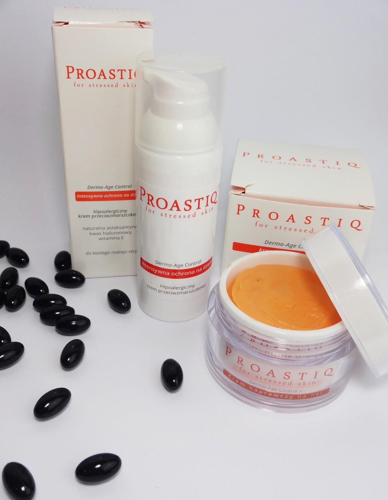 PROASTIQ - Dermo-Age Control Tages- & Nachtcreme (mit Astaxanthin)