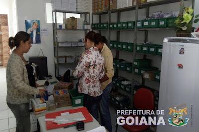 Medicamentos começam a chegar na secretaria de saúde de Goiana