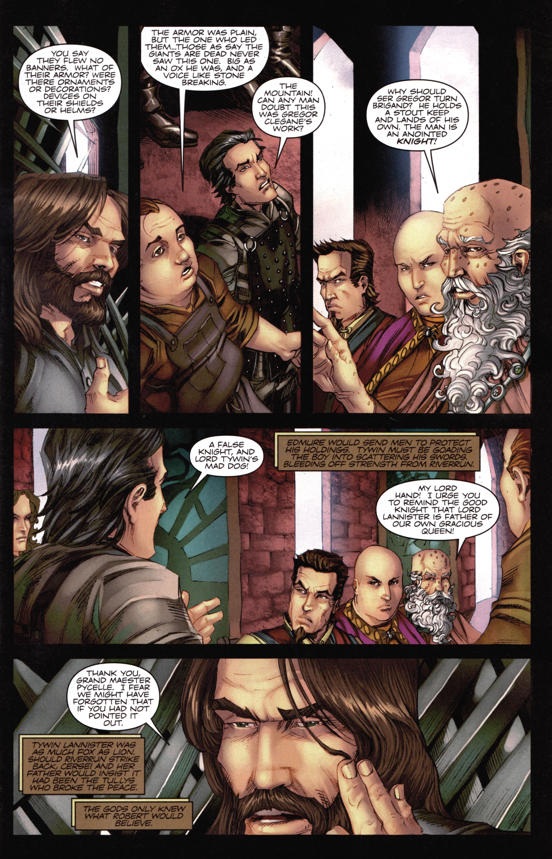 Read online A Game Of Thrones comic -  Issue #14 - 5