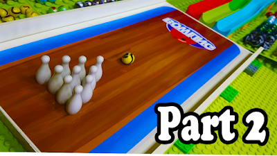 BOLICHE de BOLAS de GUDE - FINAL Parte 2 - SELEÇÕES de PAÍSES - Marble Bowling