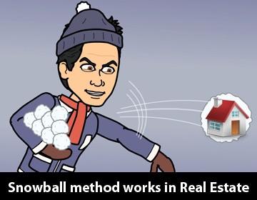 DC Fawcett Real Estate – How the snowball method works in Real Estate?