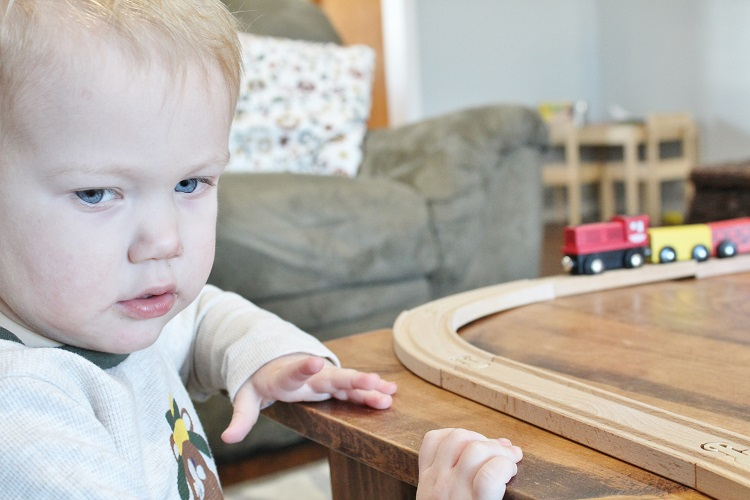 My toddler doesn't talk.  I go through so many emotions about it.  Click through if you're in the same boat!
