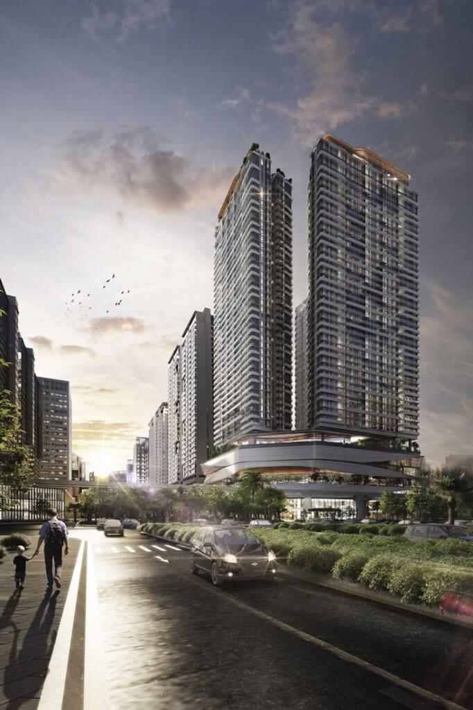 Chung cư Han Jardin sở hữu vị trí đẹp nhất Ngoại Giao Đoàn.