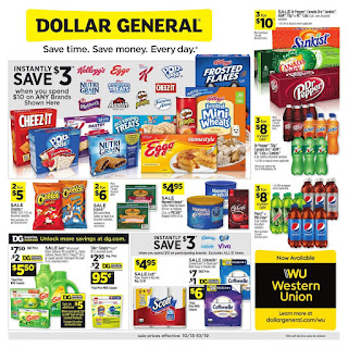 ⭐ Dollar General Ad 10/20/19 and 10/27/19 ⭐ Dollar General Weekly Ad October 20 2019