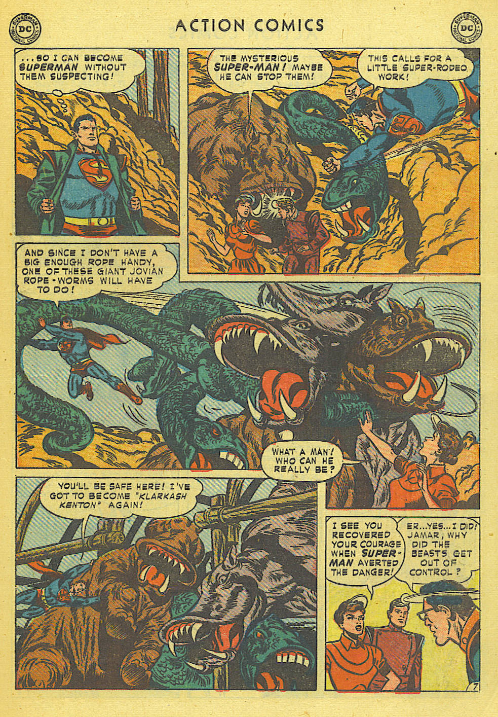 Read online Action Comics (1938) comic -  Issue #168 - 8