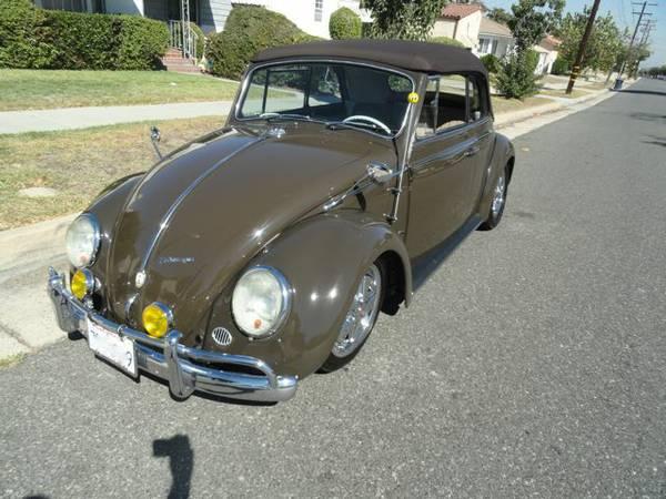 1965 VW Convertible Beetle Bug