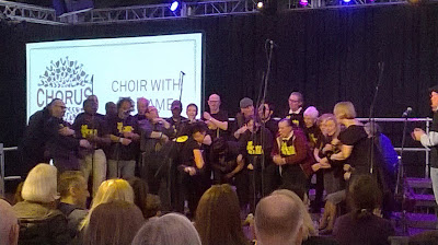 The Choir With No Name at the Southbank Centre's Chorus Festival