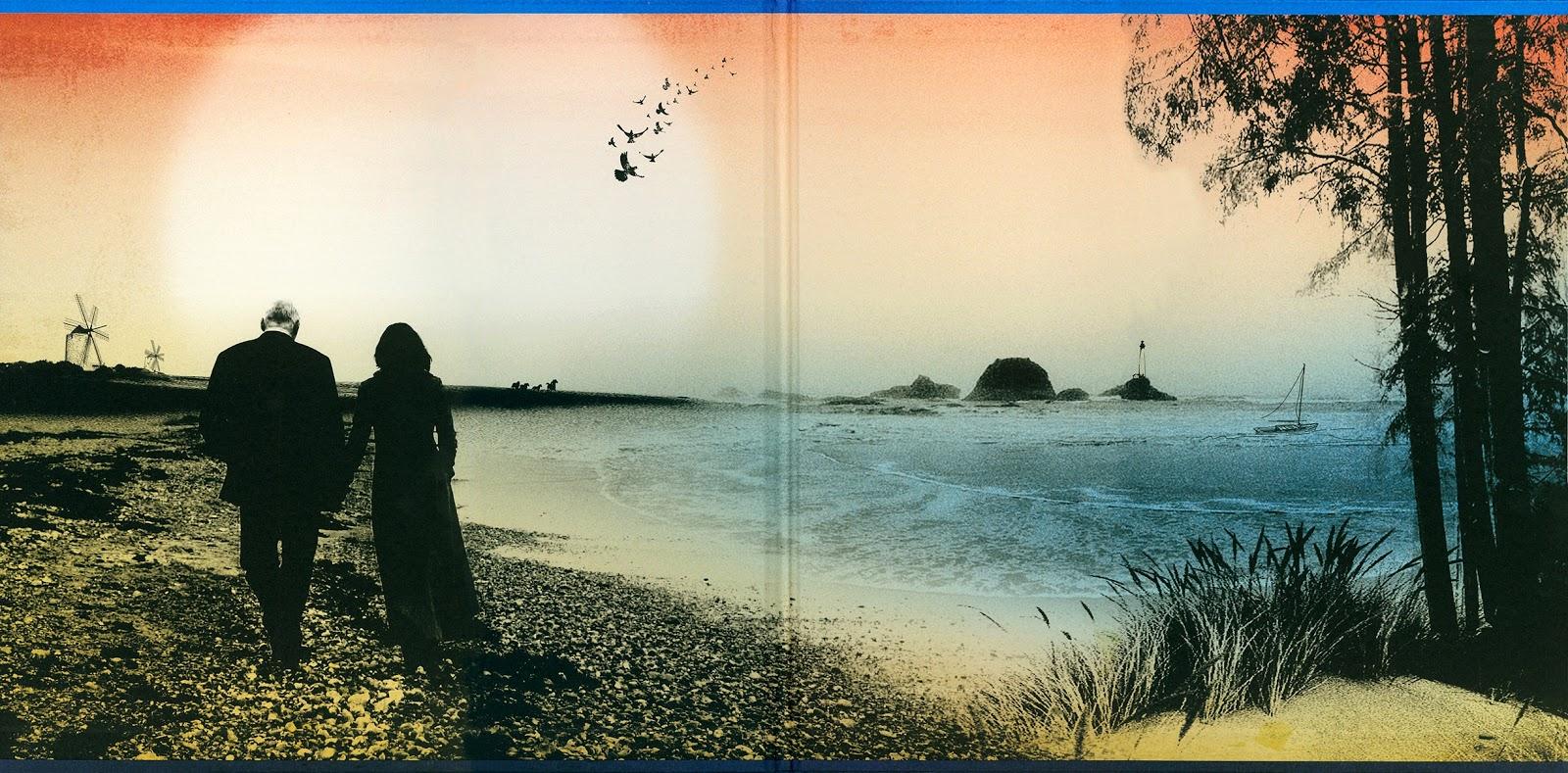 Pink Floyd Ilustrado 2006 On An Island David Gilmour