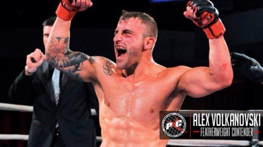 MMA fighter Alex 'The Hulk' Volkanovski aiming for world title