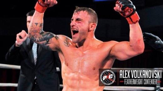 MMA fighter Alex 'The Hulk' Volkanovski aiming for world title