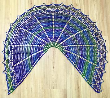 Crochet Pattern Half Circle Shawl : Simple Knits