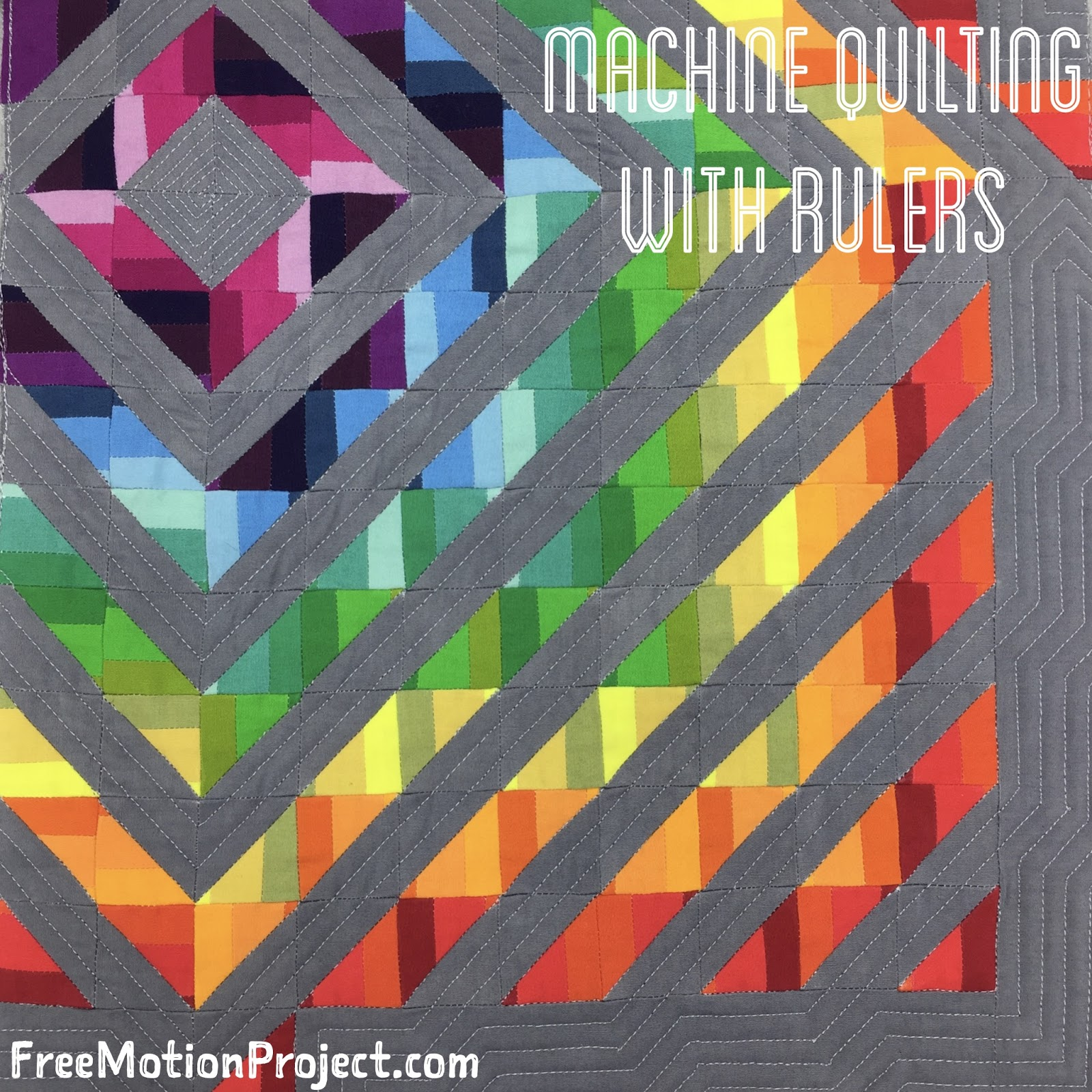 The Free Motion Quilting Project: Collaboration: Machine Quilt ... : fabric lines for quilting - Adamdwight.com