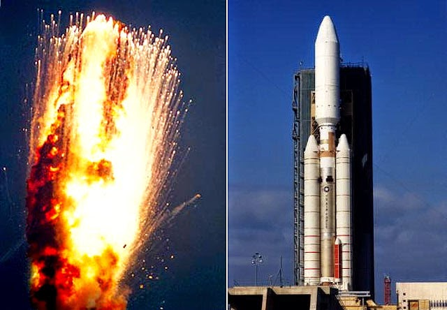 High Power Rocketry: Titan IVA-20 Accident Investigation ...