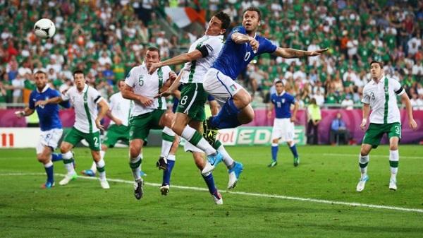 Italia vs Rep. Irlandia