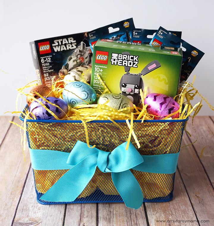 Surprise a LEGO fan with a unique LEGO Easter Basket!