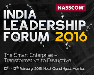 NASSCOM INDIA LEADERSHIP FORUM FEB 10, 2016 LIVE STREAM